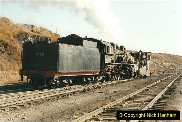 China 1999 October Number 1. (239) At Jalainur Opencast Coal Mine.