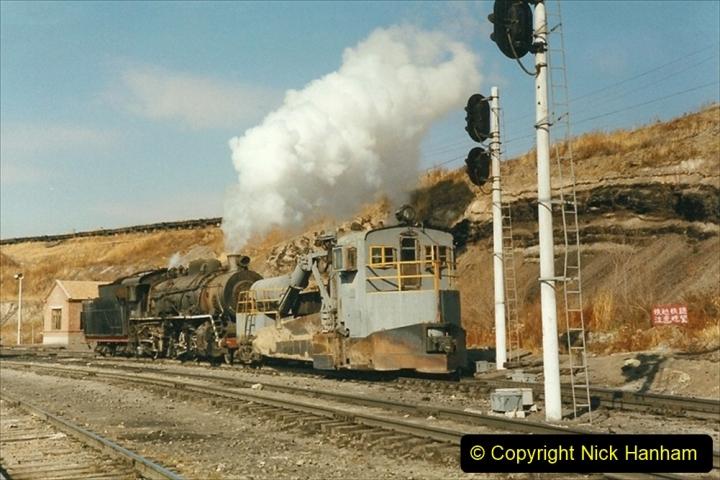 China 1999 October Number 1. (242) At Jalainur Opencast Coal Mine.