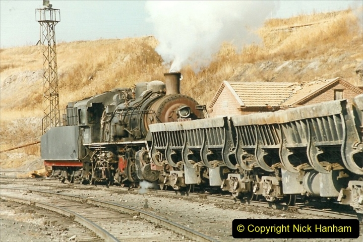 China 1999 October Number 1. (243) At Jalainur Opencast Coal Mine.