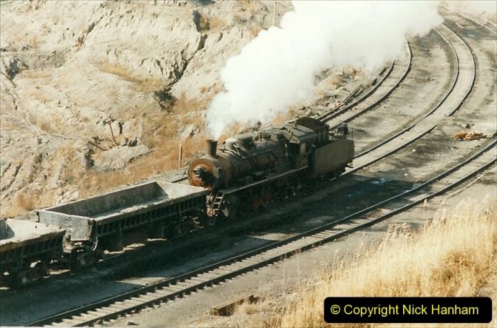 China 1999 October Number 1. (251) At Jalainur Opencast Coal Mine.