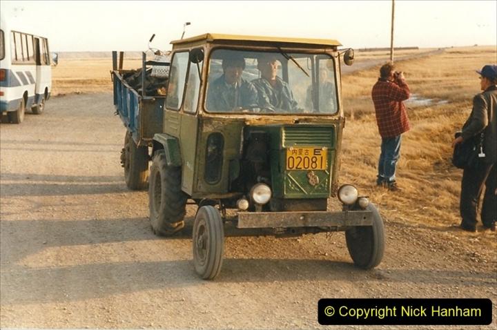 China 1999 October Number 1. (271) Jalainur mine area.