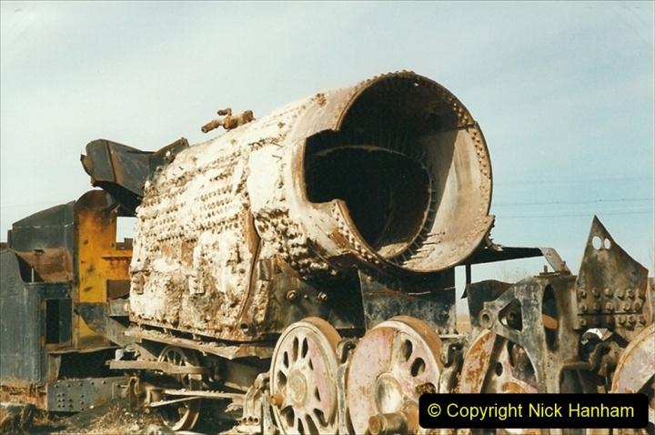 China 1999 October Number 1. (316) Jalinur Loco Works.