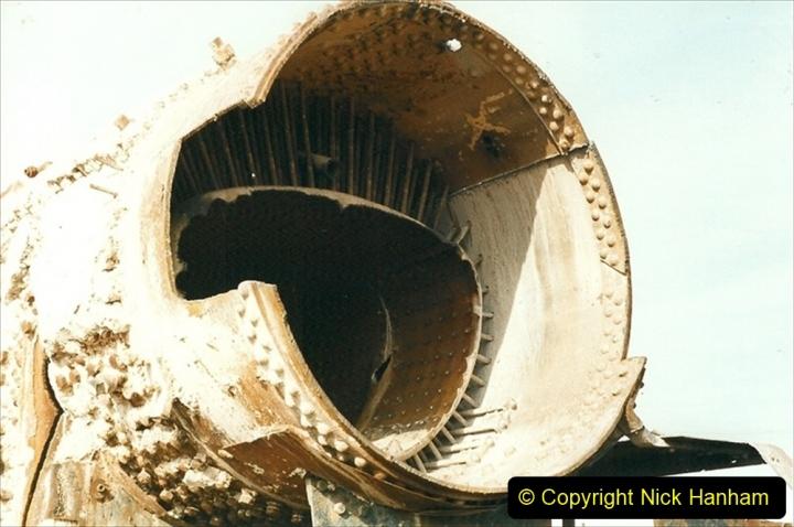 China 1999 October Number 1. (317) Jalinur Loco Works.