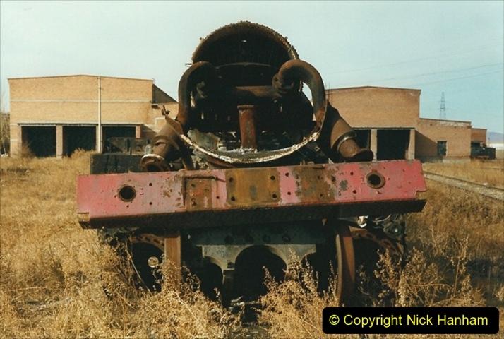 China 1999 October Number 1. (318) Jalinur Loco Works.