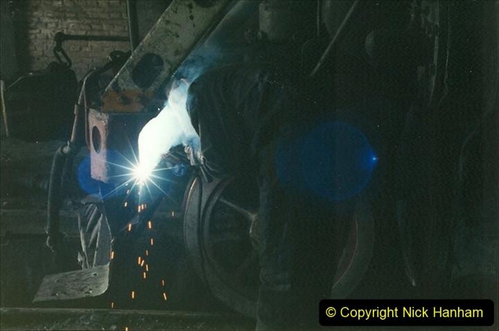 China 1999 October Number 1. (320) Jalinur Loco Works.