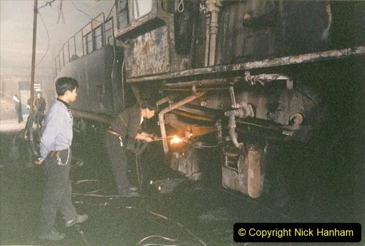 China 1999 October Number 1. (321) Jalinur Loco Works.