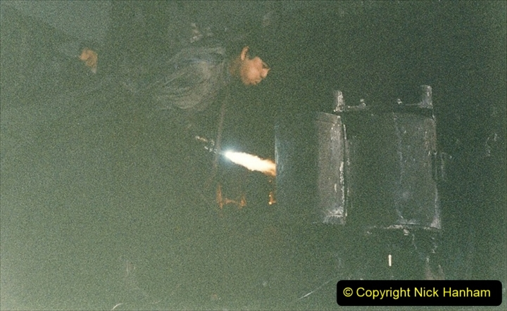 China 1999 October Number 1. (322) Jalinur Loco Works.