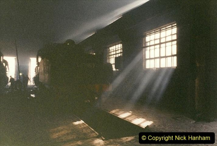 China 1999 October Number 1. (324) Jalinur Loco Works.