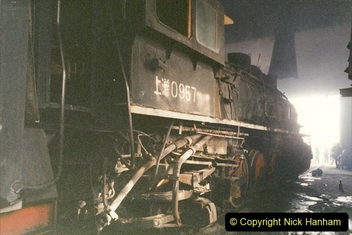 China 1999 October Number 1. (325) Jalinur Loco Works.