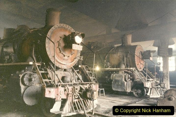 China 1999 October Number 1. (326) Jalinur Loco Works.