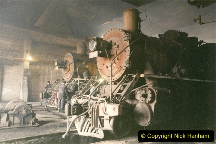 China 1999 October Number 1. (327) Jalinur Loco Works.