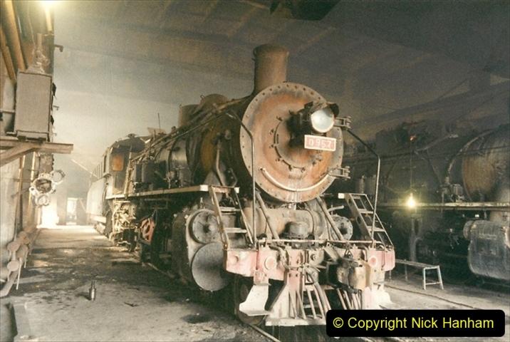 China 1999 October Number 1. (328) Jalinur Loco Works.