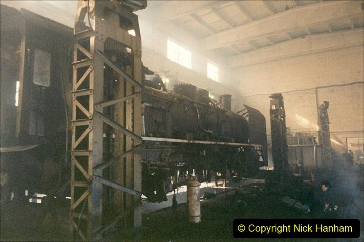 China 1999 October Number 1. (329) Jalinur Loco Works.