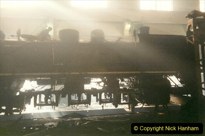China 1999 October Number 1. (330) Jalinur Loco Works.