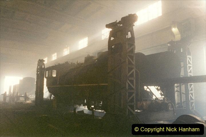 China 1999 October Number 1. (331) Jalinur Loco Works.