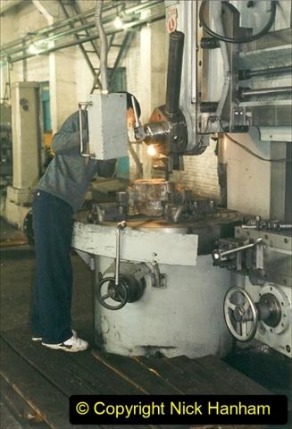 China 1999 October Number 1. (333) Jalinur Loco Works.