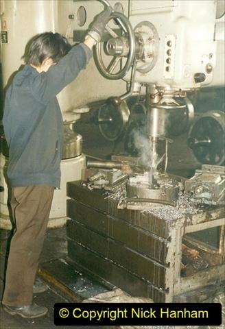 China 1999 October Number 1. (335) Jalinur Loco Works.