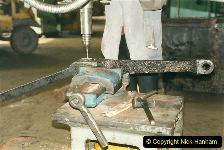 China 1999 October Number 1. (336) Jalinur Loco Works.