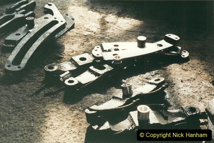 China 1999 October Number 1. (338) Jalinur Loco Works.