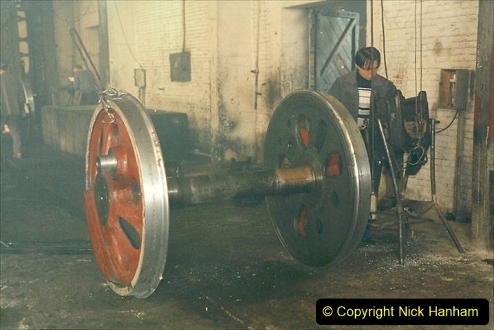 China 1999 October Number 1. (339) Jalinur Loco Works.