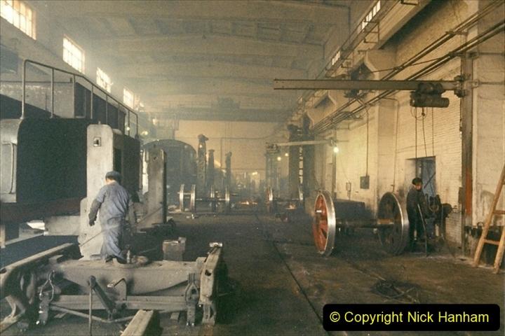 China 1999 October Number 1. (340) Jalinur Loco Works.
