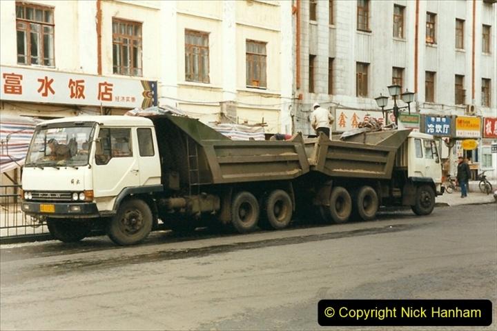 China 1999 October Number 1. (60) Harbin trucks.