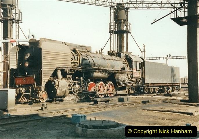 China 1999 October Number 2. (11) China Rail Tongliao Shed.
