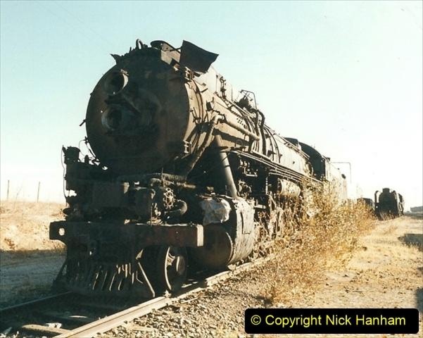 China 1999 October Number 2. (168) China Rail Deban Depot.