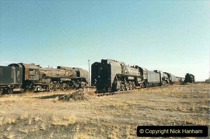 China 1999 October Number 2. (171) China Rail Deban Depot.
