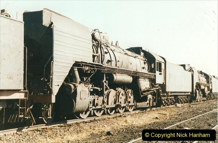 China 1999 October Number 2. (173) China Rail Deban Depot.
