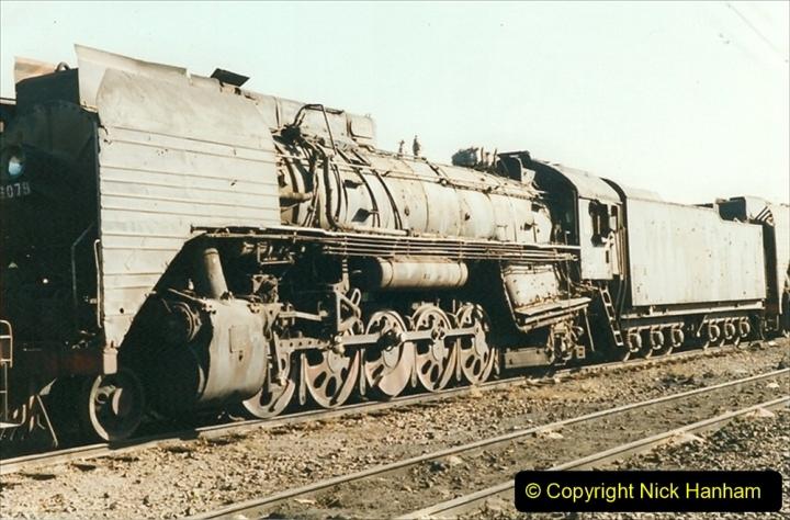 China 1999 October Number 2. (174) China Rail Deban Depot.