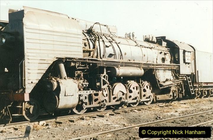China 1999 October Number 2. (175) China Rail Deban Depot.