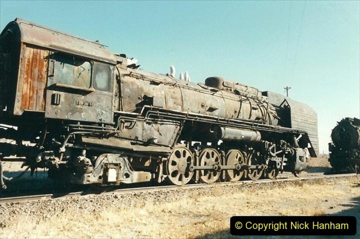 China 1999 October Number 2. (176) China Rail Deban Depot.