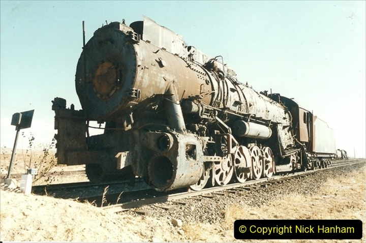 China 1999 October Number 2. (177) China Rail Deban Depot.