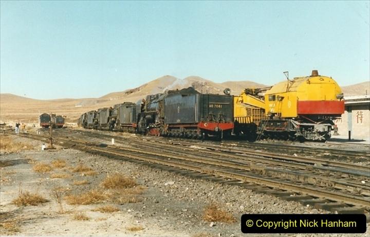 China 1999 October Number 2. (179) China Rail Deban Depot.