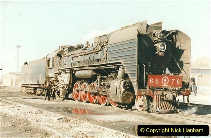 China 1999 October Number 2. (187) China Rail Deban Depot.