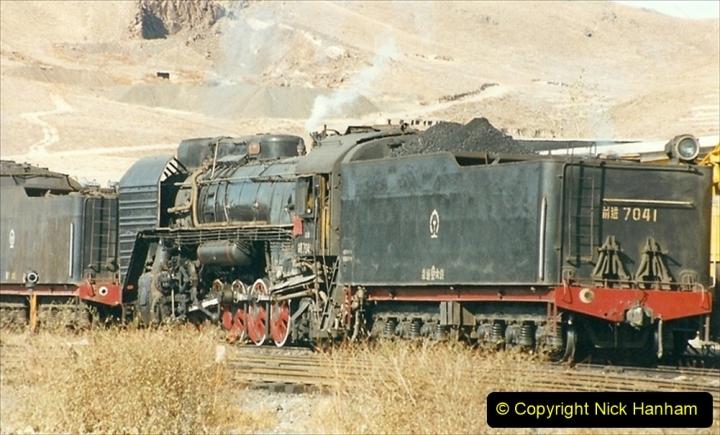 China 1999 October Number 2. (210) China Rail Deban Depot.