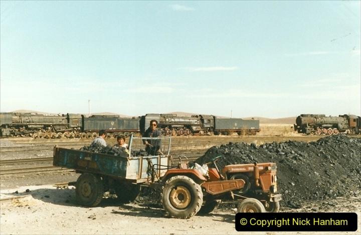 China 1999 October Number 2. (214) China Rail Deban Depot.
