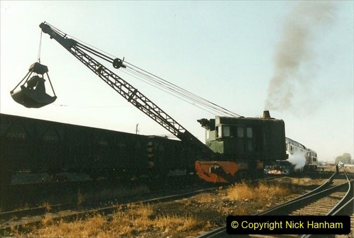 China 1999 October Number 2. (23) China Rail Tongliao Shed.