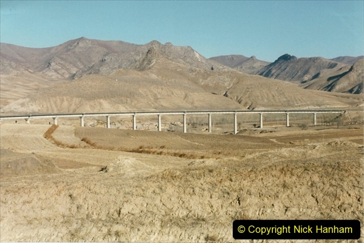 China 1999 October Number 2. (239) The Jingpeng Pass.