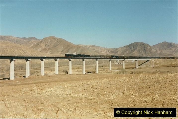China 1999 October Number 2. (254) The Jingpeng Pass. Horseshoe viaduct (Si Ying Mi Viaduct.