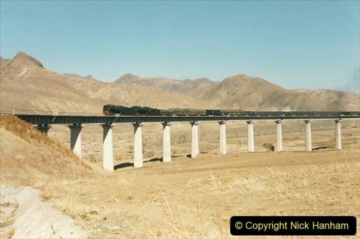 China 1999 October Number 2. (256) The Jingpeng Pass. Horseshoe viaduct (Si Ying Mi Viaduct.
