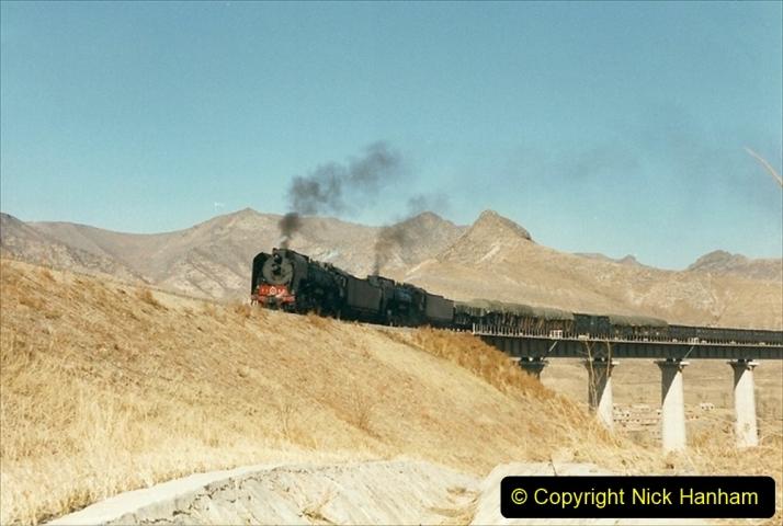 China 1999 October Number 2. (257) The Jingpeng Pass. Horseshoe viaduct (Si Ying Mi Viaduct.