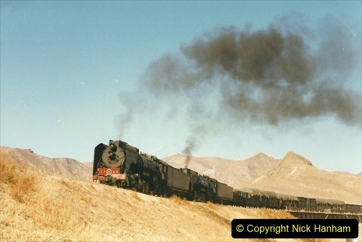 China 1999 October Number 2. (258) The Jingpeng Pass. Horseshoe viaduct (Si Ying Mi Viaduct.