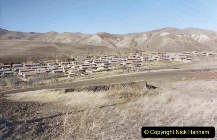 China 1999 October Number 2. (270) The Jingpeng Pass locals.