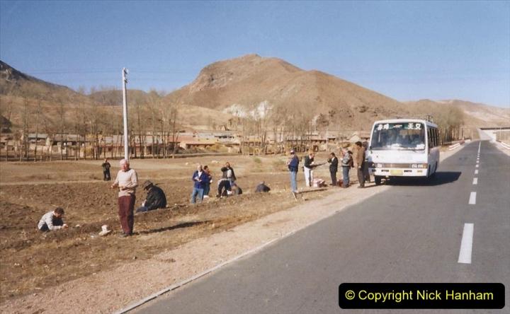 China 1999 October Number 2. (271) The Jingpeng Pass locals.