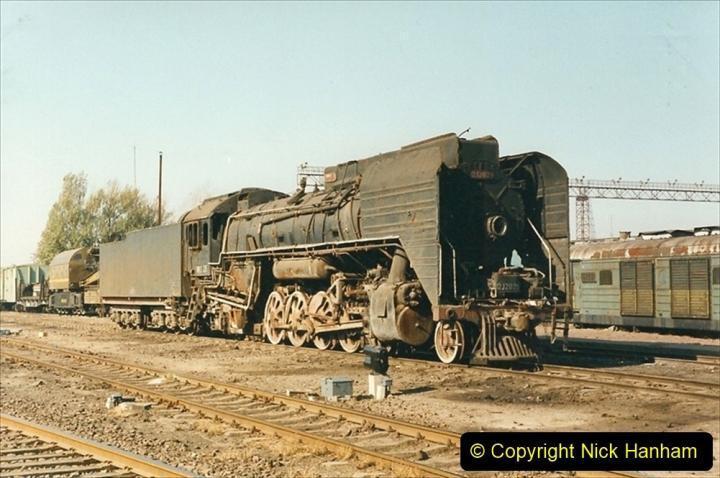 China 1999 October Number 2. (29) China Rail Tongliao Shed.