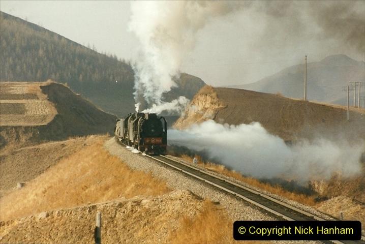 China 1999 October Number 2. (349) The Jingpeng Pass.