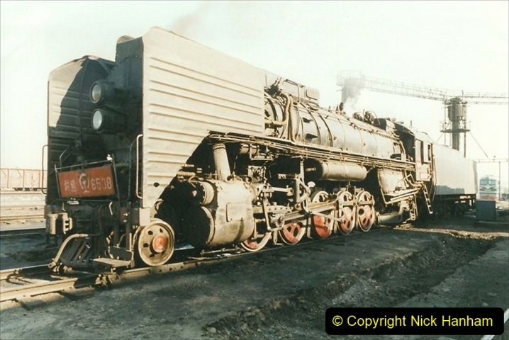 China 1999 October Number 2. (36) China Rail Tongliao Shed.