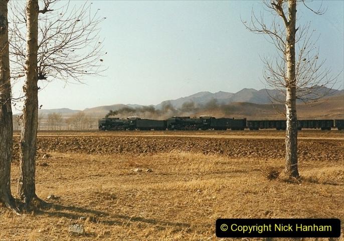 China 1999 October Number 2. (394) The Jingpeng Pass. My last sight of the Jingpeng.